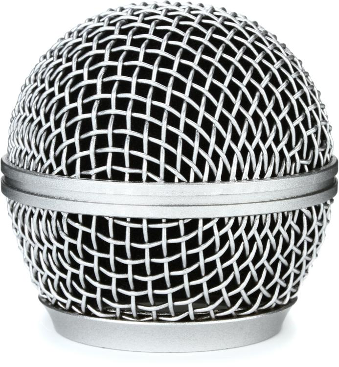 On-Stage Stands Steel Mesh Mic Grille - Steel Gray image 1