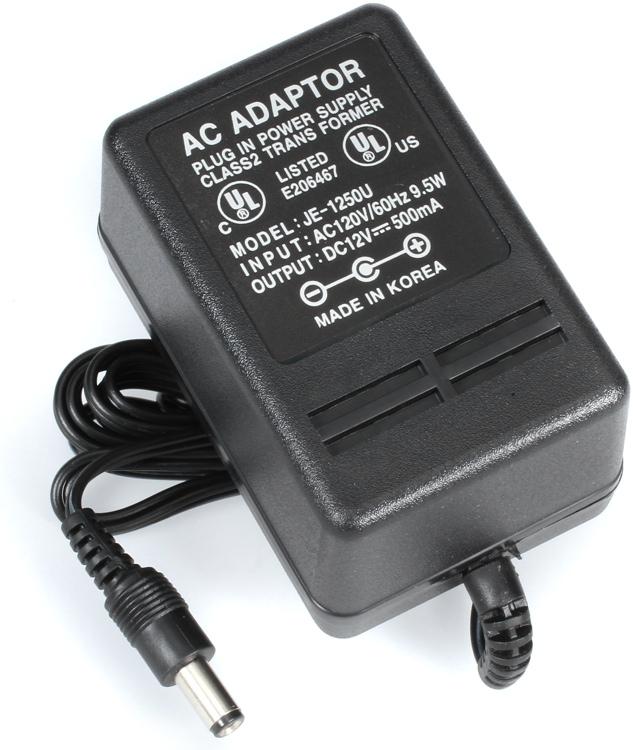 Kurzweil JE-1250U 12V/500mA Power Adapter image 1