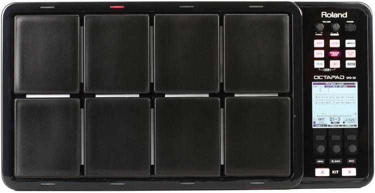 roland octapad spd 30 black sweetwater. Black Bedroom Furniture Sets. Home Design Ideas