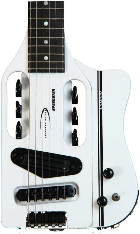 Traveler Guitar Speedster Hot Rod V2 - White image 1
