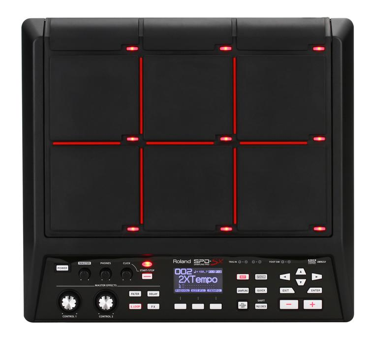 Roland SPD-SX Sampling Percussion Pad | Sweetwater