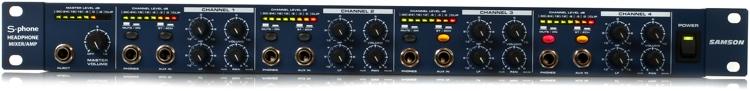 Samson S-phone 4-Ch Headphone Mixer/Amplifier image 1