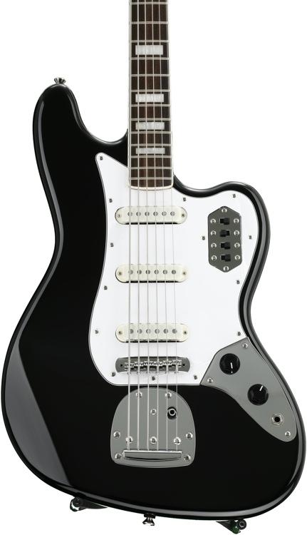 Squier Vintage Modified Bass VI - Black image 1