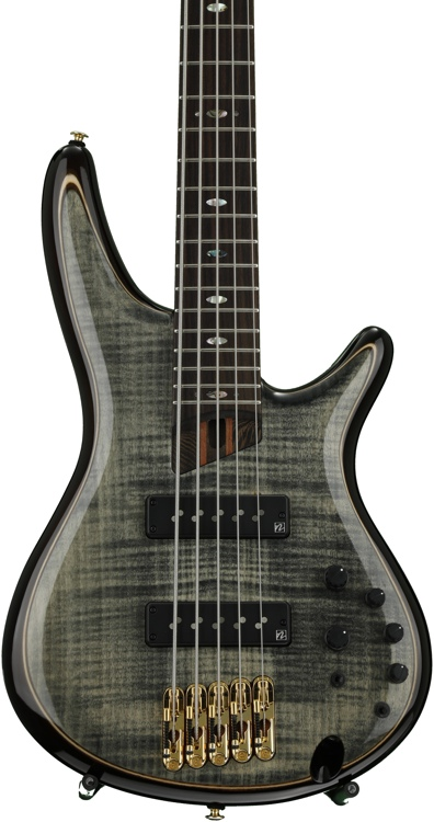 Ibanez SR1405E SR Premium - Transparent Grey Black image 1