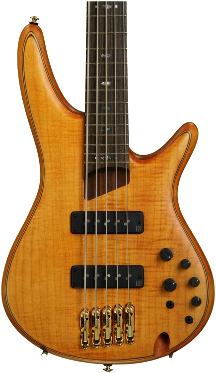 Ibanez SR Premium SR1405E - 5-String Bass w/ Figured Maple Top image 1