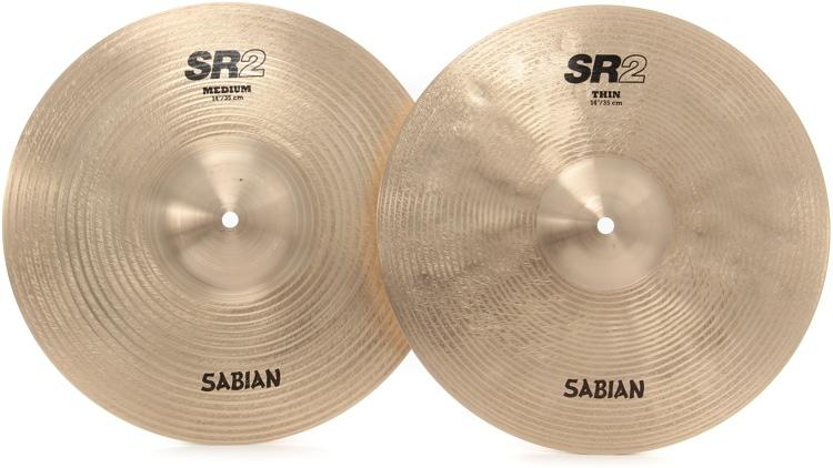 Sabian SR2 Series Hi-Hats - 14