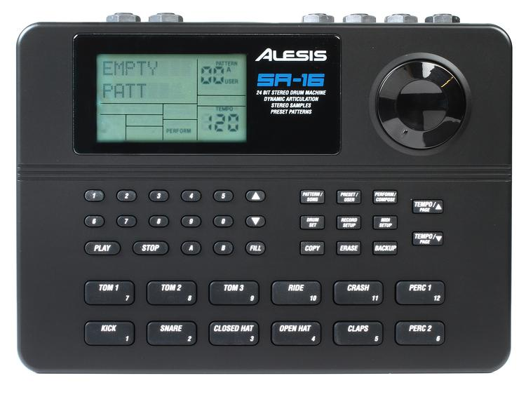 Alesis SR-16 Drum Machine image 1