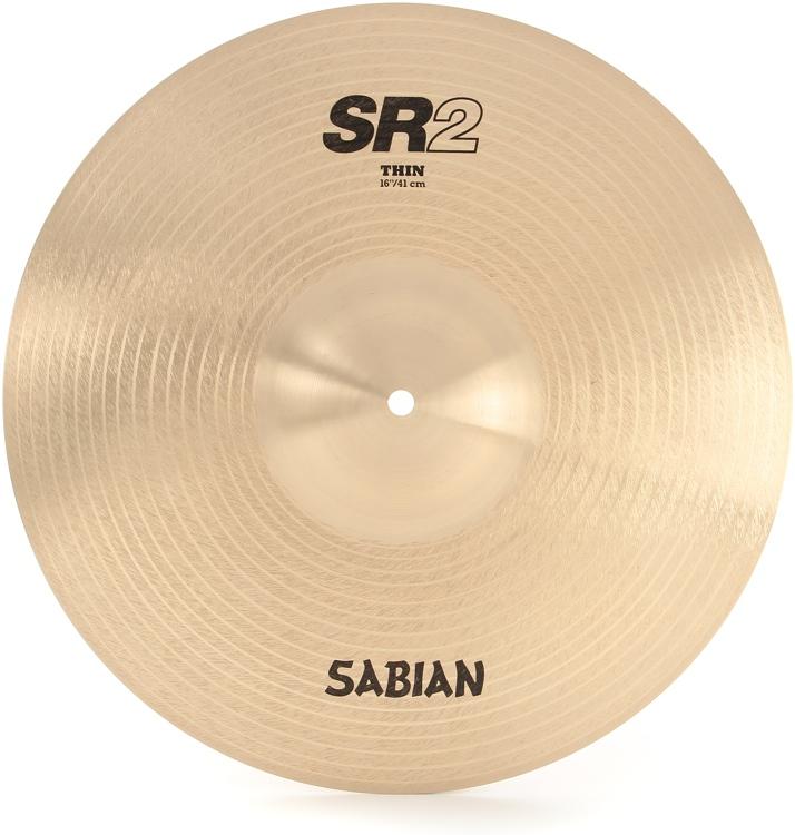Sabian SR2 Series Thin Crash/Ride - 16
