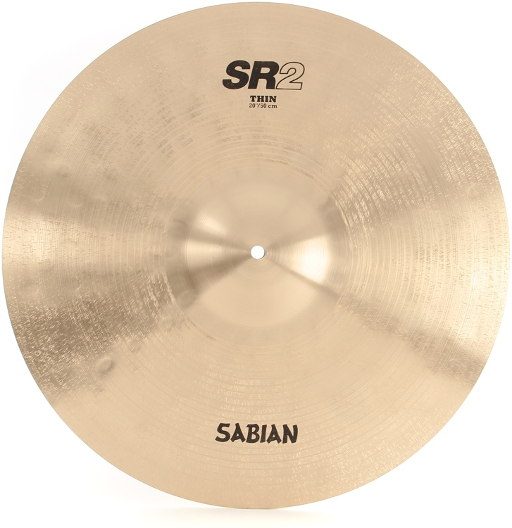 Sabian SR2 Factory Refreshed B20 Bronze Cast Cymbal - 20