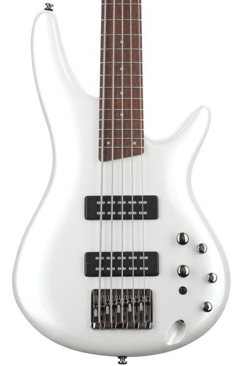 Ibanez SR305E SR Standard 5-String - Pearl White image 1