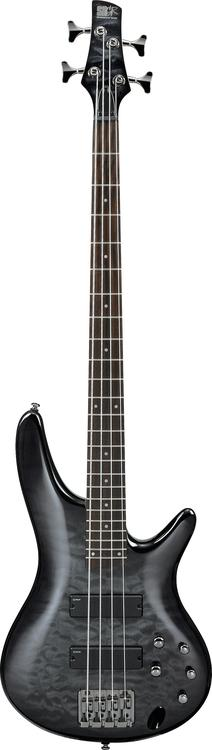 Ibanez SR400QM - Transparent Gray Burst image 1