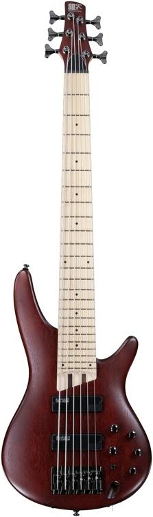Ibanez SR Series SR506M - 6-String Brown Mahogany image 1