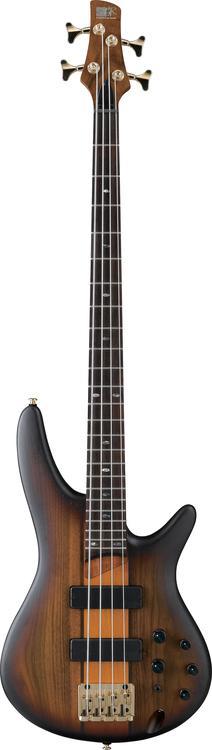 Ibanez SR750BSF 4 String Bass Brown Sunburst Flat image 1
