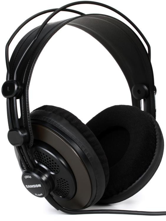 Samson SR850 Semi-open Studio Headphones image 1