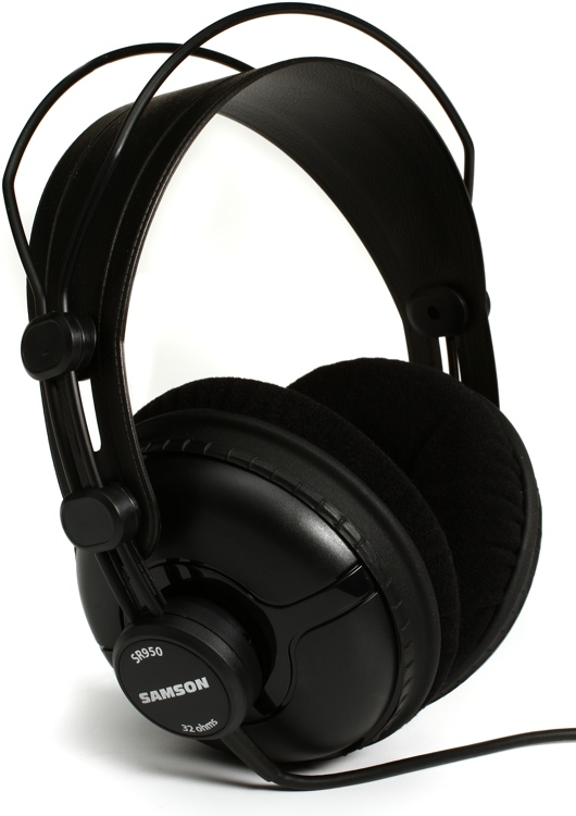 Samson SR950 Studio Headphones - Closed image 1