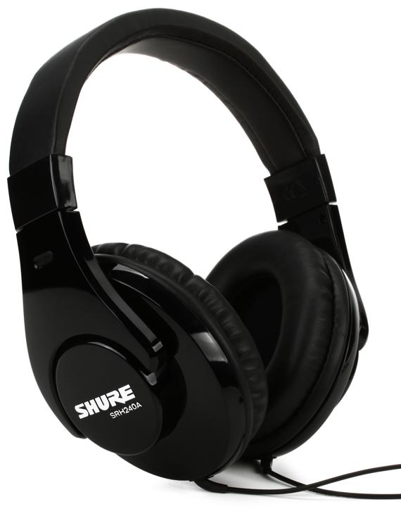 Shure SRH240A Closed-back Headphones image 1
