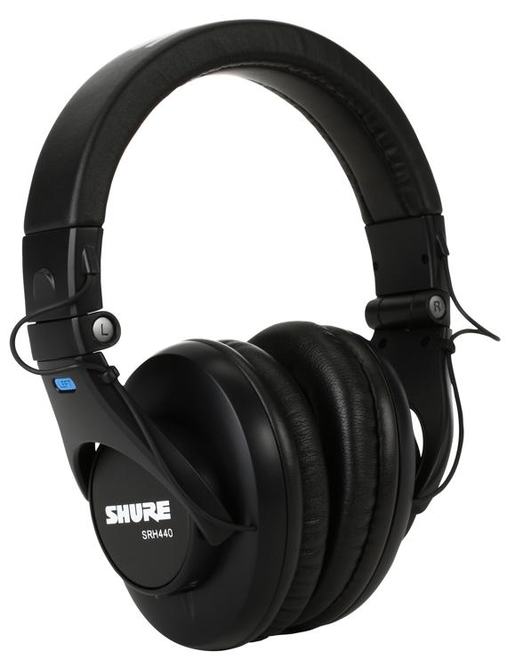 Shure SRH440 Closed-back Studio Headphones image 1