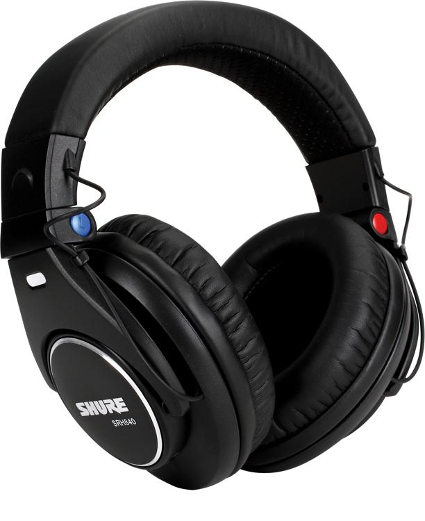 Shure SRH840 Closed-back Pro Studio Monitor Headphones image 1