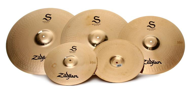 Zildjian S Series Rock 4-piece Cymbal Set image 1