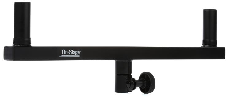 On Stage Stands Dual Pole Mount Speaker Bracket Sweetwater