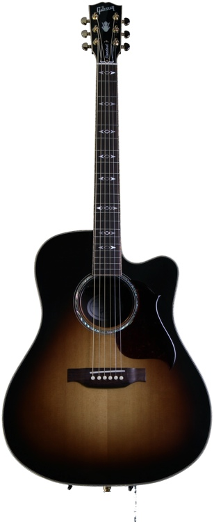 Gibson Acoustic Songwriter Deluxe Standard Cutaway - Vintage Sunburst image 1