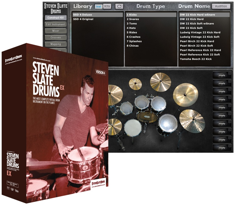 Steven Slate Drums 4.0 EX (boxed) image 1
