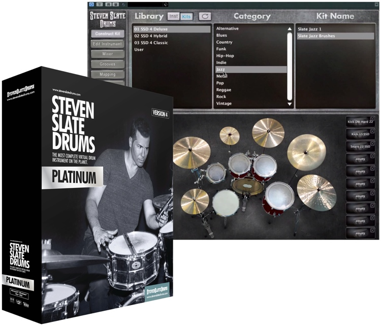Steven Slate Drums 4.0 Platinum (download) image 1