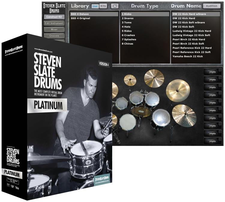 Steven Slate Drums 4.0 Platinum (boxed) image 1