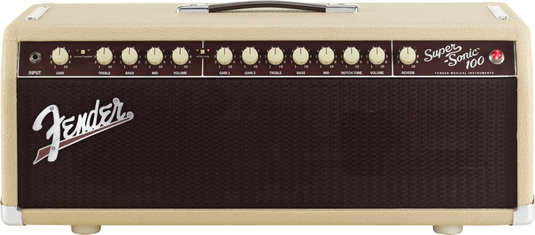 Fender Super-Sonic 100 Head - Blonde image 1
