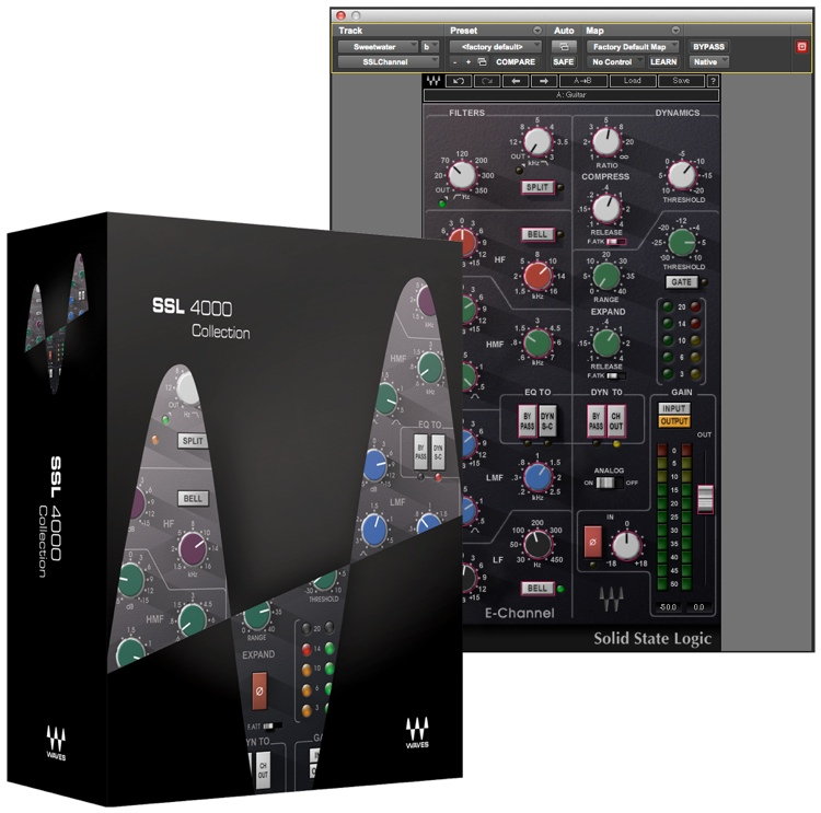 Waves SSL 4000 Collection Plug-in Bundle for Academic Institutions image 1