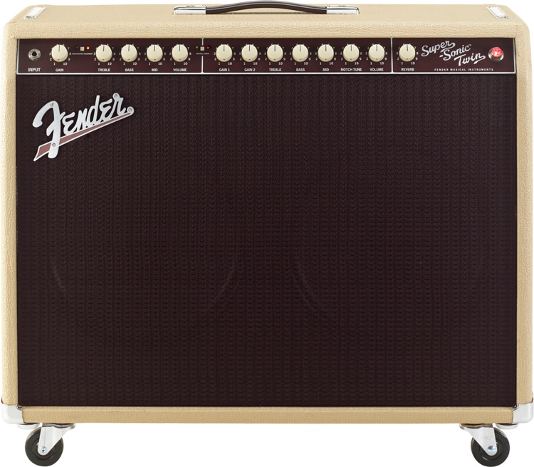 Fender Super-Sonic Twin Combo - Blonde image 1