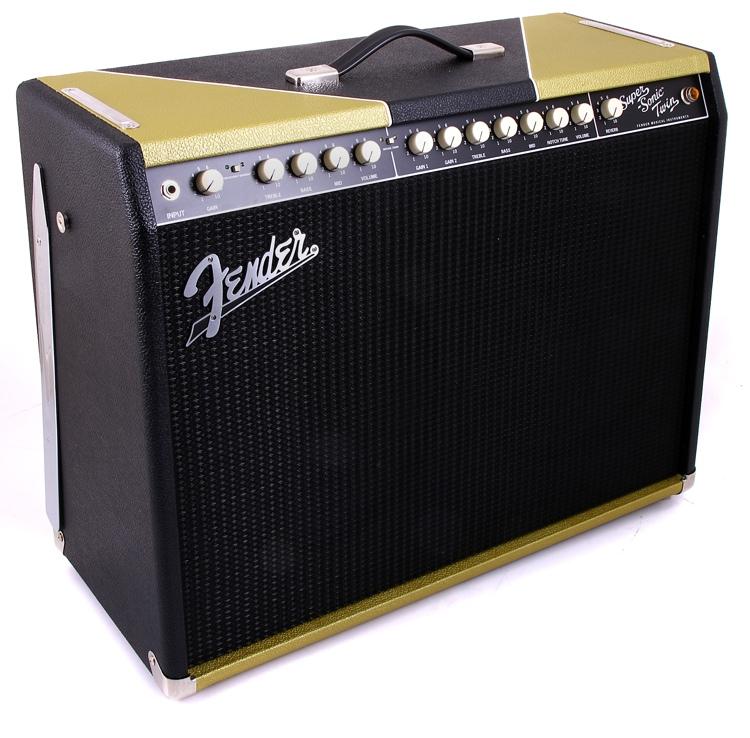 Fender Super-Sonic Twin Combo FSR - Black Gold image 1