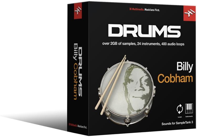 IK Multimedia Billy Cobham Drums SampleTank 3 Sound Library image 1