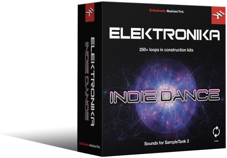 IK Multimedia Indie Dance SampleTank 3 Sound Library image 1