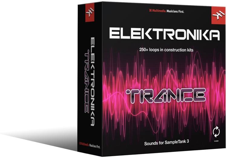 IK Multimedia Trance SampleTank 3 Sound Library image 1
