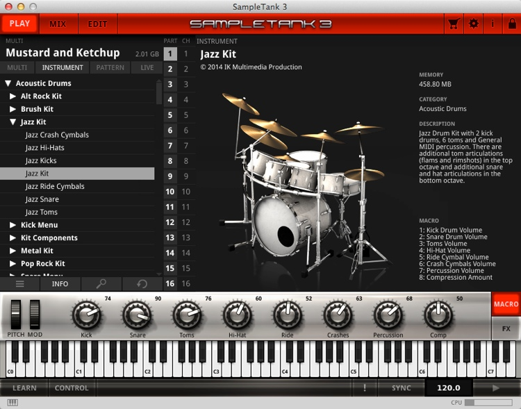 IK Multimedia SampleTank 3 - Upgrade from SampleTank 2 XL (boxed) image 1