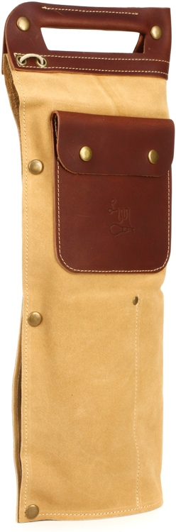 LM Products 1985 Reissue Vintage Leather Drumstick Bag - Tan image 1