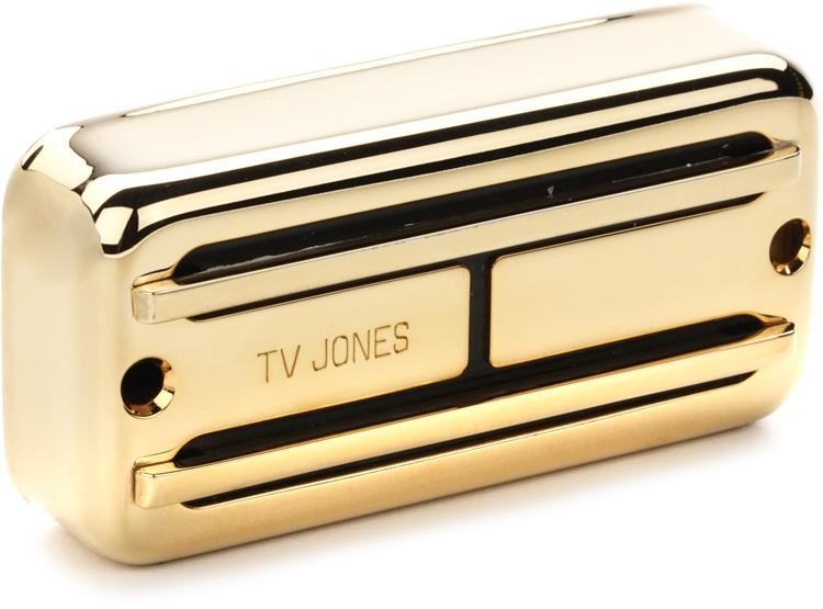 tv jones super 39 tron pickup neck gold sweetwater. Black Bedroom Furniture Sets. Home Design Ideas