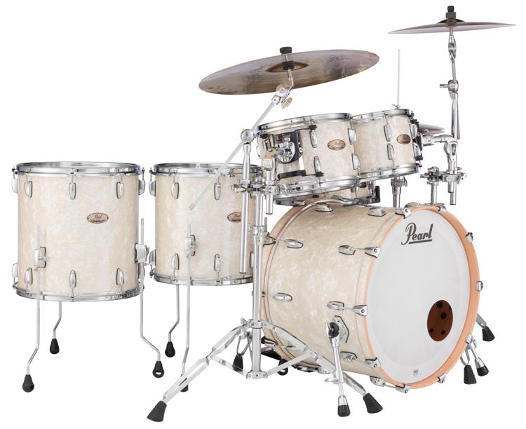 Pearl Session Studio Select Sts925xsp C 5 Piece Shell Pack Nicotine White Marine Pearl Sweetwater