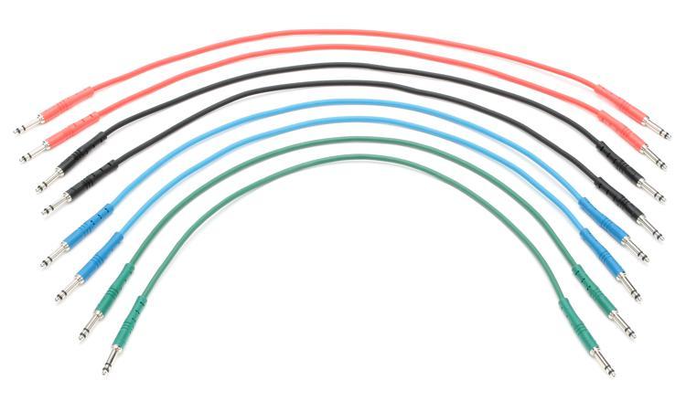 StageMASTER STT-1-1/2-8PK - 1.5\' StageMASTER TT Cable, 8-Pack image 1