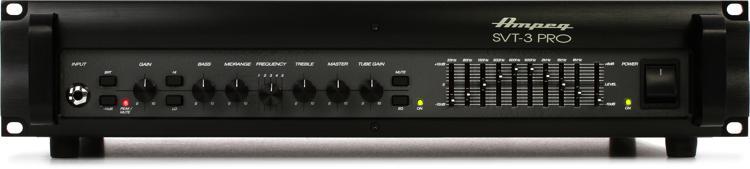 Ampeg SVT-3PRO 450-Watt Tube Preamp Bass Head image 1