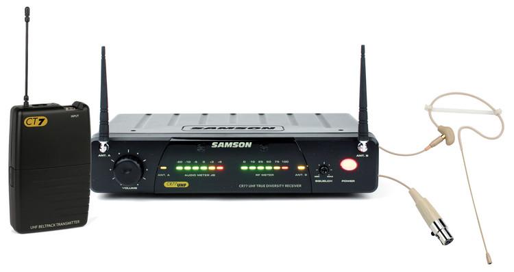 Samson Concert 77 Headset System - Channel N2 (642.875) image 1