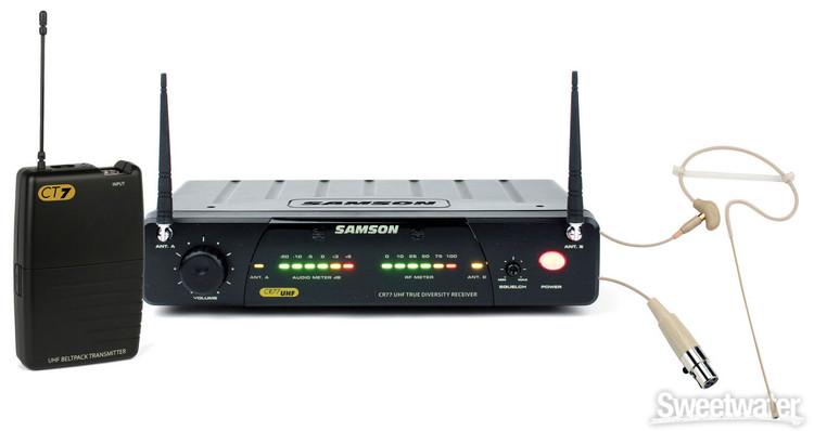 Samson Concert 77 Headset System - Channel N6 (645.750) image 1