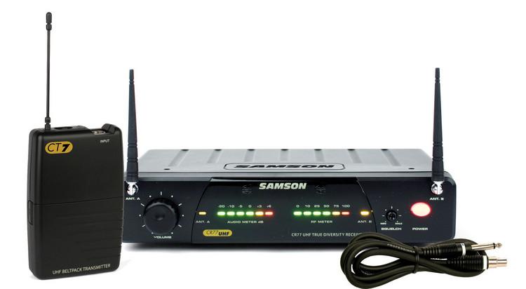 Samson Concert 77 Guitar System - Channel N6 (645.750 MHz) image 1