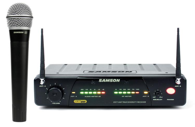 Samson Concert 77 Handheld System - Channel N2 (642.875 MHz) image 1