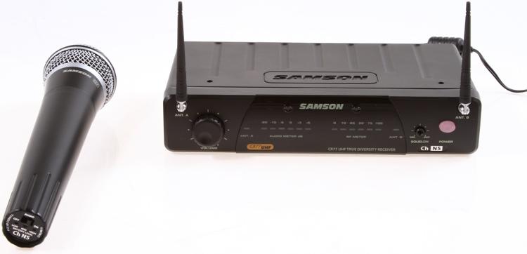 Samson Concert 77 Handheld System - Channel N5 (645.500 MHz) image 1