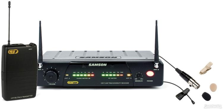 Samson Concert 77 Lavalier System - Channel N5 (645.500 MHz) image 1