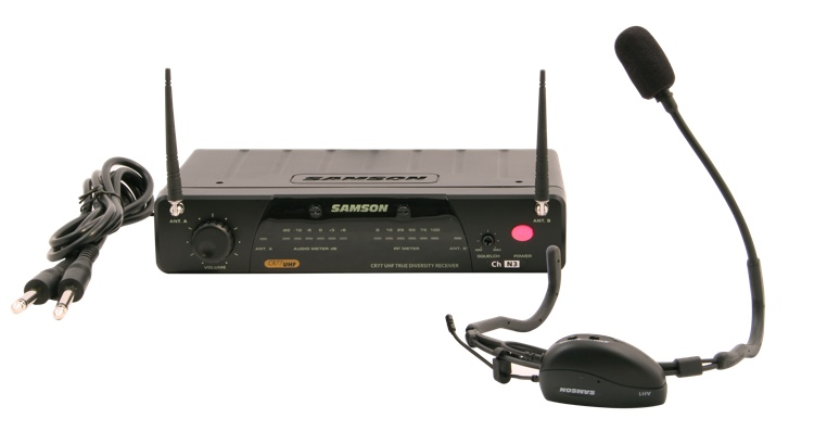 Samson AirLine 77 Fitness Headset Wireless System - Channel N3 image 1