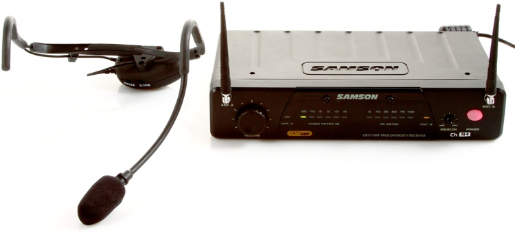 Samson AirLine 77 Fitness Headset Wireless System - Channel N4 image 1