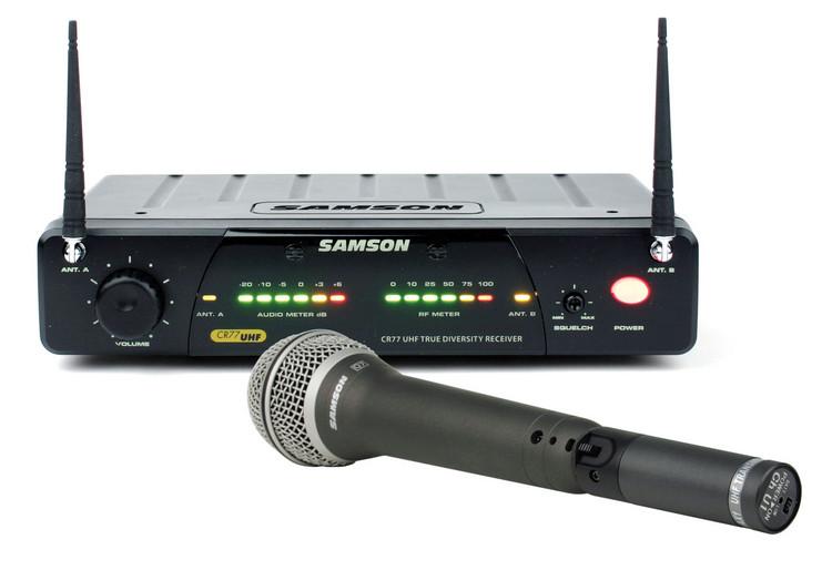 Samson AirLine 77 Handheld System - Channel N4 (644.750 MHz) image 1